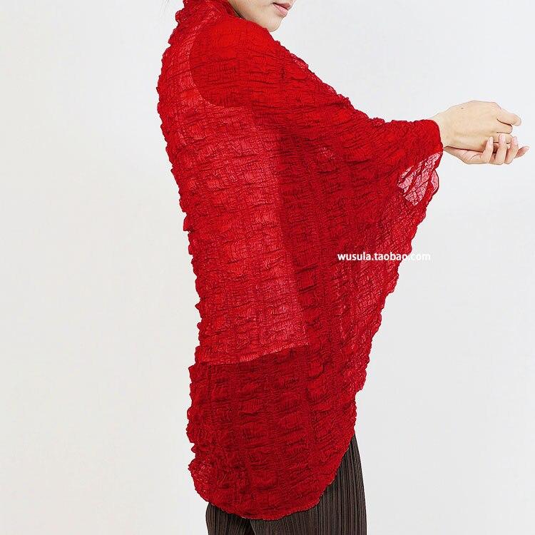 Livraison rouge Japonais Ultra Gratuite Red Rose Couleur Manteau Lumière Et Stock Bubble Pure Votre Fold En Manches De mince Moitié m0w8nN