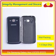 For Samsung Galaxy Ace 3 S7270 7270 S7272 S7275 S7275R Housing Battery Door Rear Back Cover Case Chassis Shell Replacement стоимость