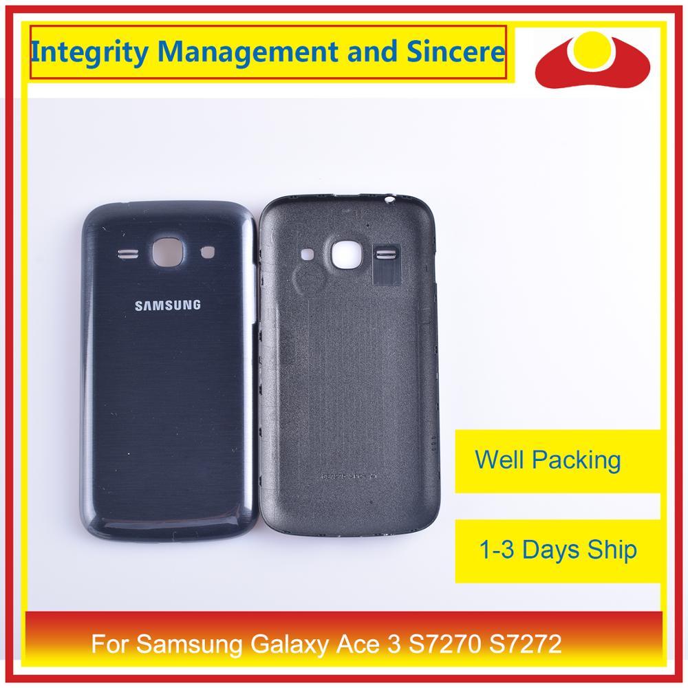Для samsung Galaxy Ace 3 S7270 7270 S7272 S7275 S7275R корпус батарейного отсека задняя крышка корпус замена корпуса-in Корпуса и рамки для мобильных телефонов from Мобильные телефоны и телекоммуникации