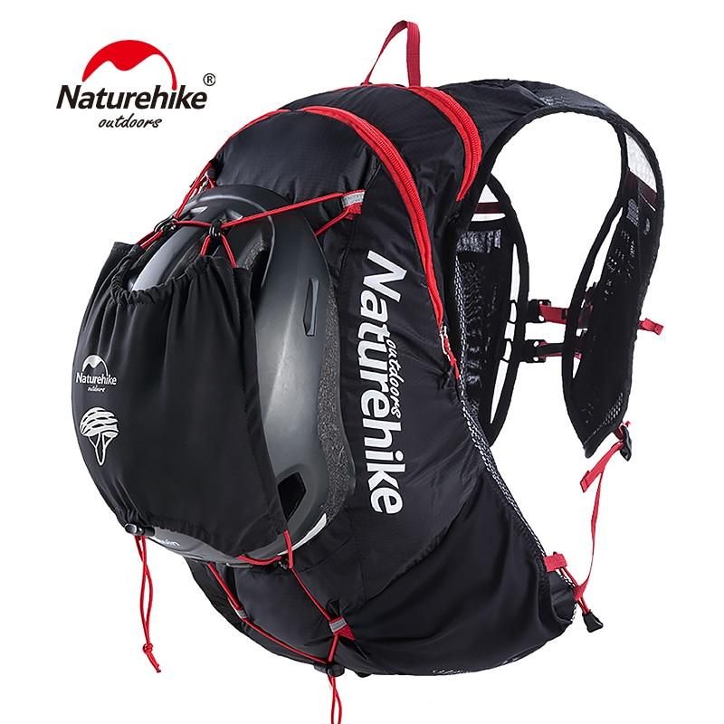 Naturehike открытый работает гидратации пакет рюкзак 15L Велоспорт сумка Пеший Туризм воды мешок 70D Нейлон легкий Запуск сумка