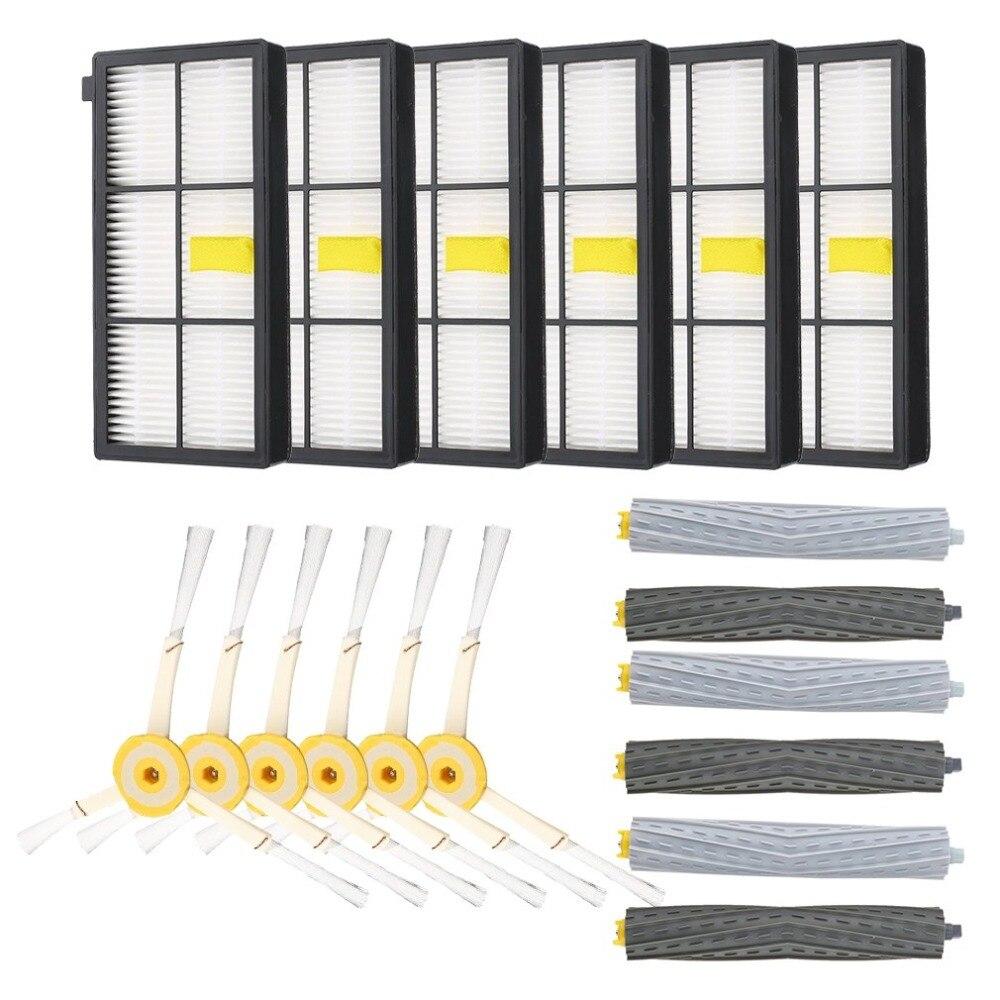 Brosse et Filtres Hepa Pour iRobot Roomba 880 890 980 Vide Propre Accessoire Routine D'entretien Remplacement Accessoires