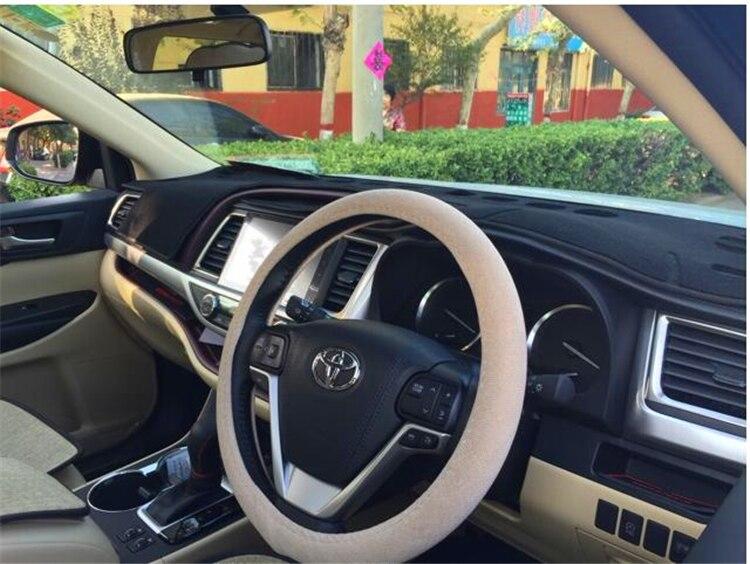 Dashmats Car-Styling accesorios cubierta del salpicadero para toyota - Accesorios de interior de coche - foto 6