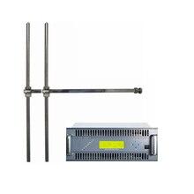 Fmuser ZHC618F 2000 ватт fm-передатчик и 2-bay радио вещательные антенны для городской радиостанции