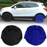 4pcs 32inch Spare Tire Cover Case Winter and Summer Car Tires Storage Bag Automobile Tyre Accessories Vehicle Wheel Protector Tire Accessories     -