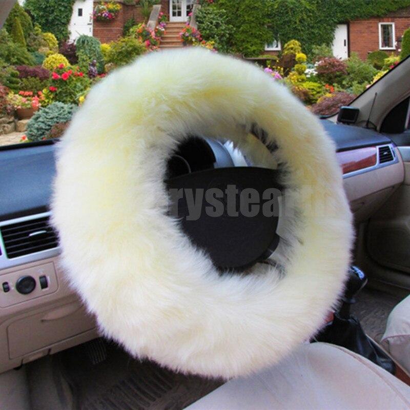 3pcs/set Car Auto Winter Warm Woolen Steering Wheel Cover Handbrake Lever Gear Shift Knob Sleeve For BMW E46 E39 E36 E90 E92 X6 cool skull head car steering wheel aid handle assist knob