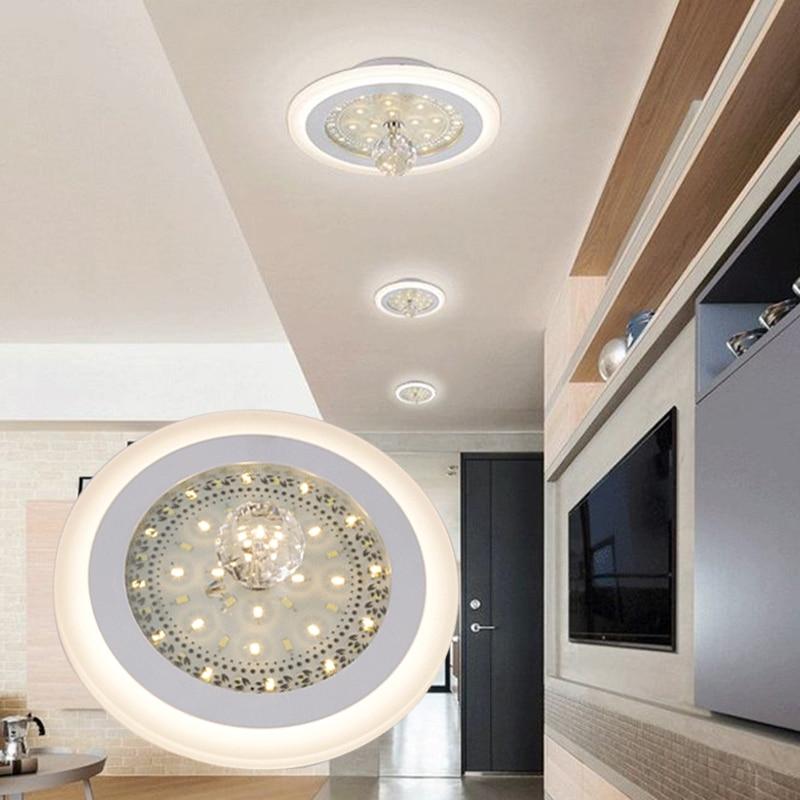99 Off 2017 New Modern Led Ceiling Light Swimming Led: LAIMAIK Modern Crystal LED Ceiling Light 24W+18W Round