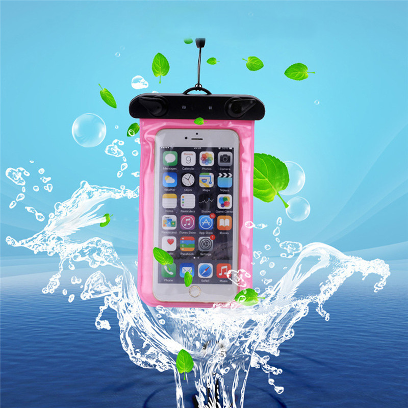 Mobile Phone Case Bag Waterproof Pouch Underwater for iPhone 6 6s plus 5 5c 5s for Samsung galaxy s7 s6 s5 s4 huawei xiaomi