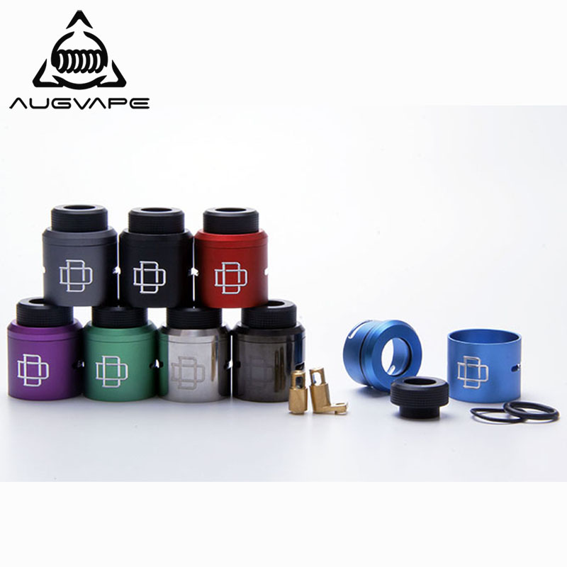 Augvape Druga RDA Top Cap Kit For Druga RDA Tank Atomizer 810 Drip Tip  Aluminum Anodized Colorful Dripka Vaporizer Vape Tank