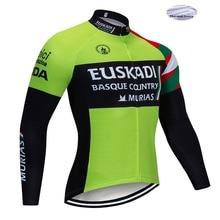 2019 invierno verde EUSKADI Ciclismo UCI Tour equipo Pro Ciclismo Jersey  MTB Ropa de Ciclismo para 9da844d0d
