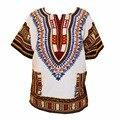 (Envío rápido) nuevo diseño de moda africana tradicional impreso 100% algodón Dashiki Camisetas para unisex (HECHO EN TAILANDIA)