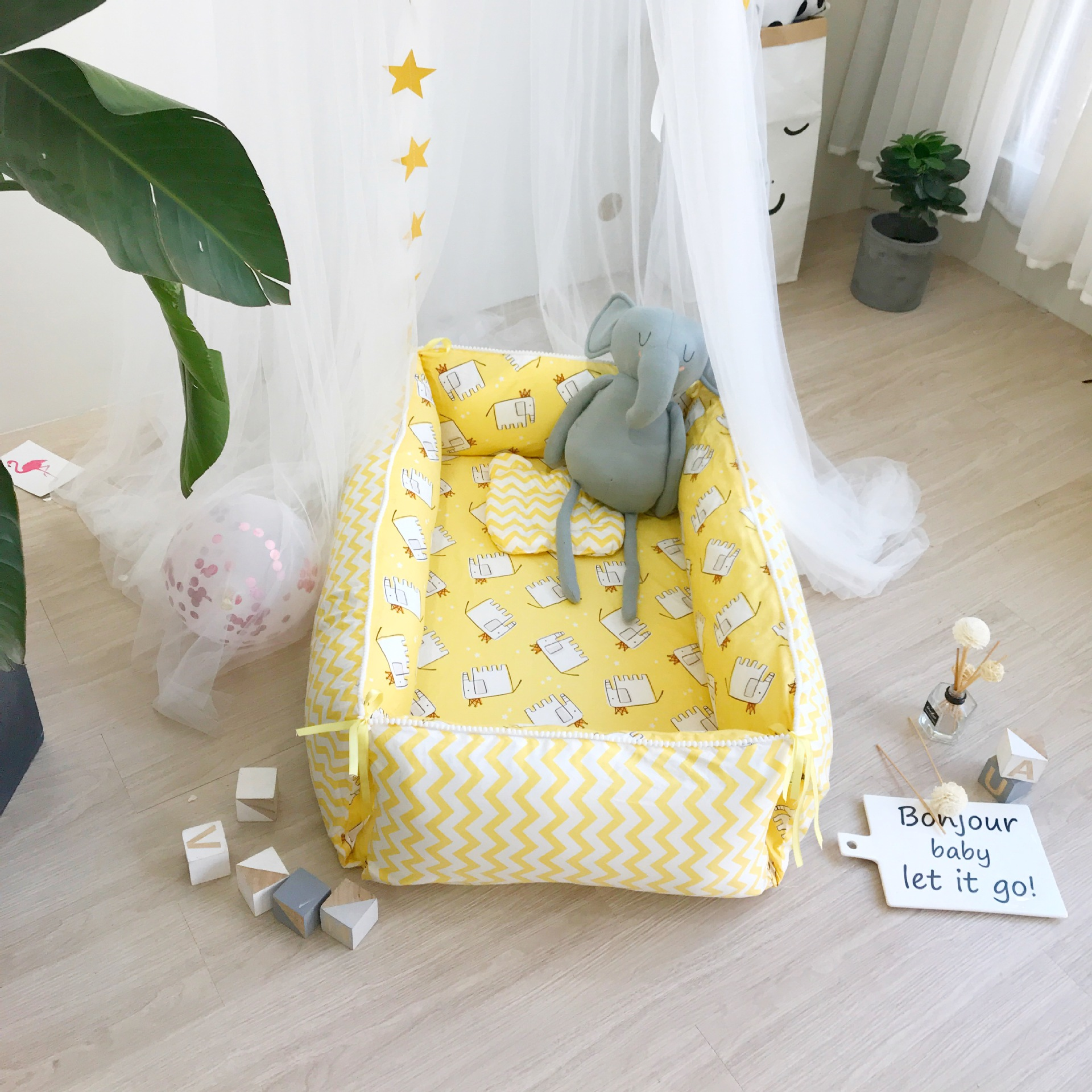 Baby Portable Bionic Bed In The Bed Baby Play Bed Removable Newborn Bionic Sleepy Magic Bed