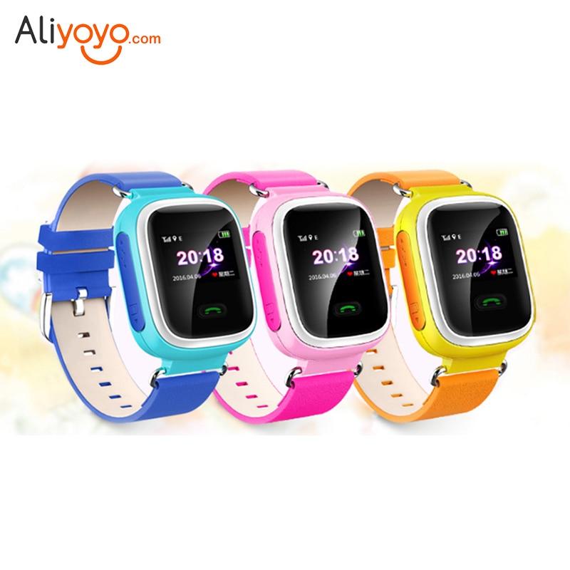 imágenes para Q60 GPS Bluetooth Pantalla Táctil Reloj Inteligente Bebé Posicionamiento Smartwatch relojes SOS Tracker Dispositivo de Localización de Llamadas de Seguros Para Niños