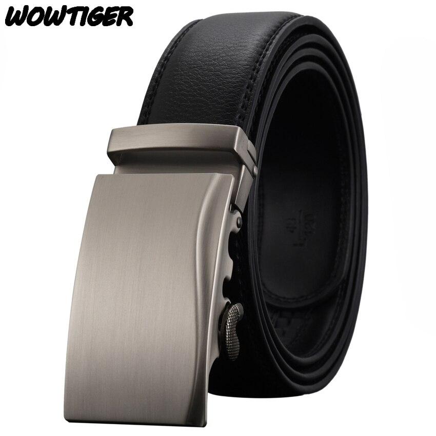733a15fe0ad2 WOWTIGER Mode Automatique boucle hommes ceinture De Mode et personnalité de  luxe Alliage boucle ceintures pour hommes