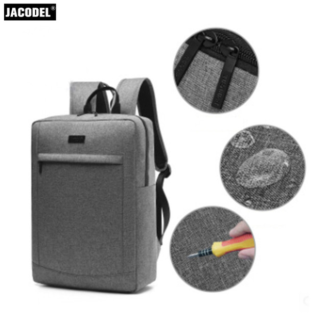Jacodel Casual Laptop Backpack 17 Notebook Bag Men S Travel Inch For Xiaomi Dell