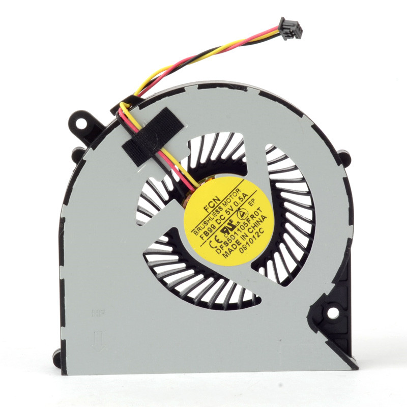 Replacements Laptops Computer Cooling Fan CPU Cooler Power 5V 0.5A Accessories Fit For Toshiba C850/C870/L850 3 Pin F1174 image