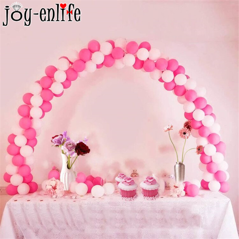 38pcs DIY Balloon Arch Frame Table Stand Kit Decoration For Wedding Birthday Party Balloons Accessories Events Party Supplies