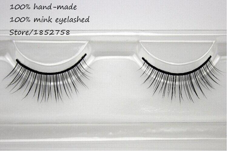 Aliexpress.com : Buy Real Mink Fur Long Natural Eyelash Extensions ...