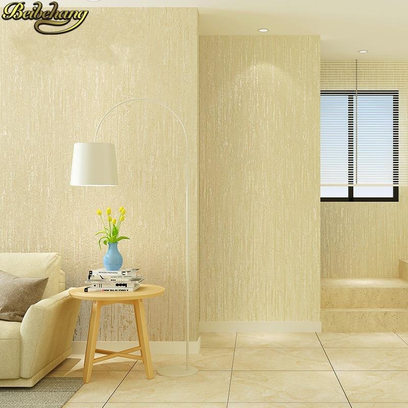 Beibehang Modern Minimalist Plain Wallpaper For Walls