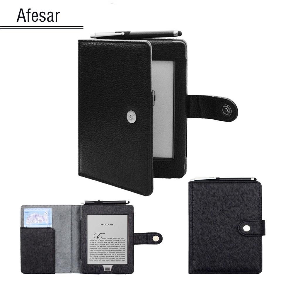 Leather Cover For (2012 old model) D01200 book Flip Folio case magnet cover 2011 D01200 ebook reader
