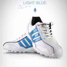 CRESTGOLF Children Sport Shoes Sneakers Breathable Soft Shoes Golf Kids Shoes Outdoor Running Antiskid Shoes