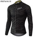 Phtxolue Winter Thermal Fleece Cycling Jersey Warm 2016 Pro Mtb Long Sleeve Men Bike Wear Clothing Maillot QY064