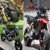 Green Headlights Universal Headlamp Street Fighter For Kawasaki KX65 85 125 250 500 250F 450F KLX450R