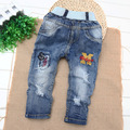 Children's clothing Jeans Pants Boy Baby Trend Jeans Pants Hole Spring Autumn Boys Jeans Enfant Garcon Kids Ripped Jeans Garcon