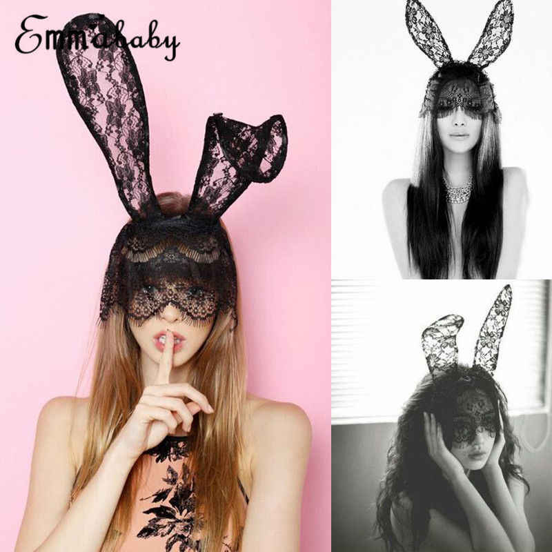 7d066bade4cba Hirigin Sexy Headwear 2018 New Halloween Costume Party Rabbit Bunny ...