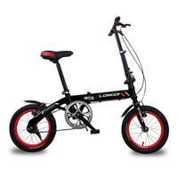Folding Bike14 16 Inch Ultralight High Carbon Steel Frame Mini City Bike Children Adult Foldable Bicycle
