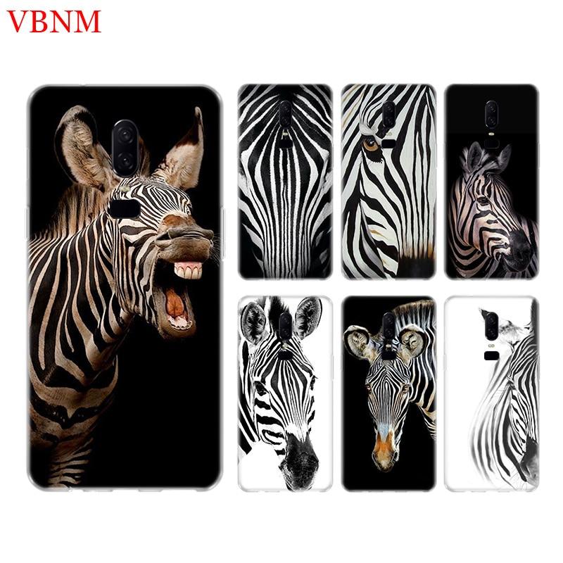 Zebra Stripe Funny New Phone Back Case For font b OnePlus b font font b 7