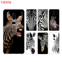 Zebra Stripe Funny New Phone Back Case For OnePlus 7 Pro 6 6T 5 5T 3 3T 7Pro 1+7 Art Gift Patterned Customized Cases Cover Coque