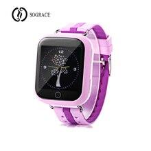 Купить с кэшбэком Smart Watch Kids Wristwatch Q750 Support 2G SIM TF Cards For Android Phone Children Bluetooth GPS LBS AGPS Watch Russia Kid Gift
