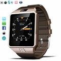 QW09 Bluetooth WI-FI Smart Watch Часы Android 4.4 MTK6572 Dual Core 1.2 ГГц ROM 4 ГБ RAM 512 М Smartwatch Для iOS Android PK GT08