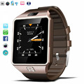 Qw09 bluetooth wi-fi smart watch relógio android 4.4 mtk6572 dual core 1.2 GHz ROM 4 GB RAM 512 M Smartwatch Para Android iOS PK GT08