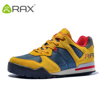 Men Genuine Leather Light Running Shoes Breathable Comfortable Training Sneakers Women Round Toe Warm Mesh Trainers AA12350