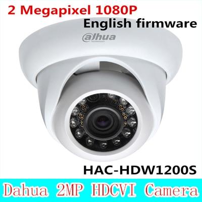 Dahua HDCVI dome font b camera b font HAC HDW1200S 2 Megapixel 1080P Cost effective IR