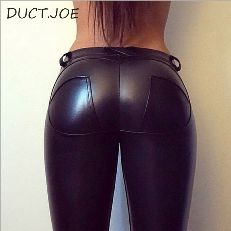 Ductjoe New Women's Leather Leggings For Fitness Winter Trousers Clothes For Women Warm Gothic Pants Plus Size 4 Colors Leggings #1