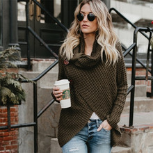 Try Everything Autumn Winter Turtleneck Sweater Women Pullover Knitted Casual Green Fashion 2019 Tops Colthing