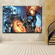 Canvas Wall TV Series Picture Decor Framework 1 Piece Ghost Rider Painting Modern HD Printed Poster Home Decorative Artwork