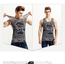 XL-4XL Men's sleeveless T-shirt clothing tank top men Seamless underwear summer thin ice silk vest men stretch tank top men