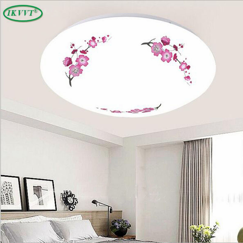 Led acrylic round living room bedroom lamp study balcony suction dome ceiling light ceiling lighting
