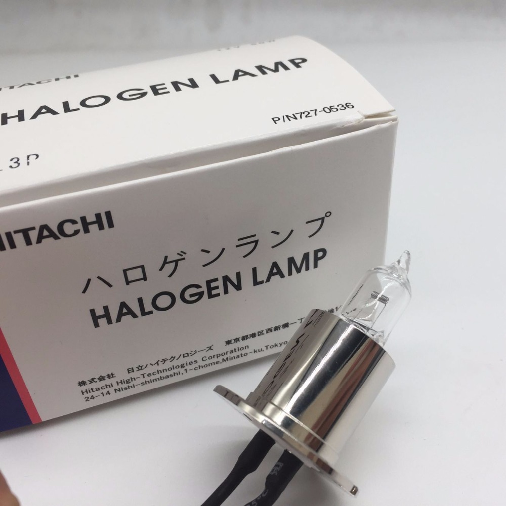 4pcs HITACHI 727 0536 12V 50W Lamp Cobas C502 C701 C702 C711