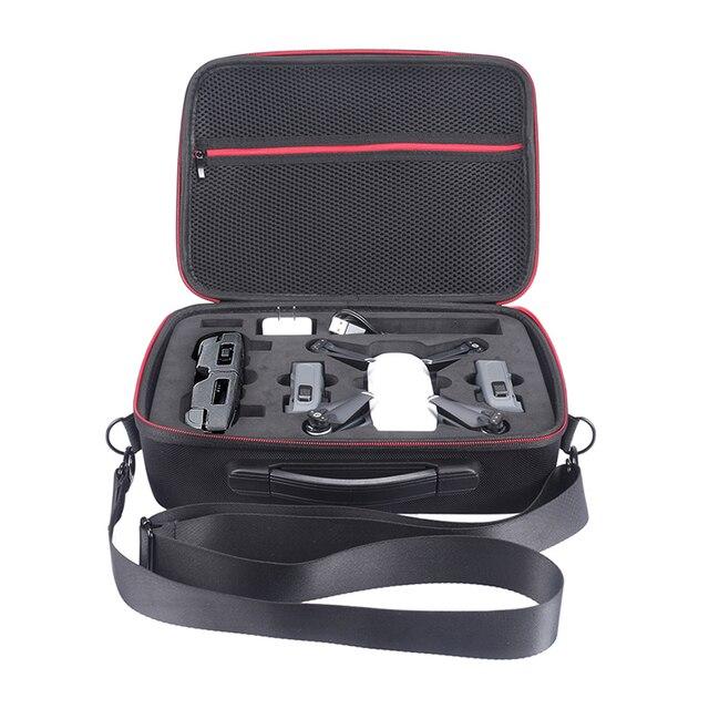 Ева жесткий сумка коробка для DJI Spark Drone и все Интимные аксессуары Портативный Spark плеча DJI хранения Carry Сумки для квадрокоптеров