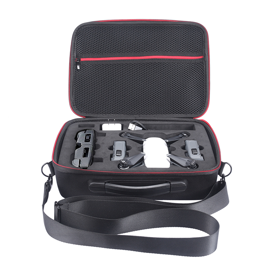 EVA Hard Bag Box for DJI Spark Drone and All Accessories Portable Spark Case Shoulder DJI Storage Carry Drone Bags pgytech dji spark led light for dji spark portable night flight led light lighting drone accessories