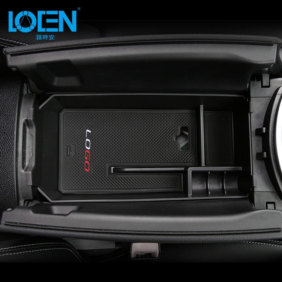 For Mercedes Benz 2010-2015 E Class/2016 New E class/2015-2017 New C class/GLE Car Center Console Armrest Storage Box Organizer