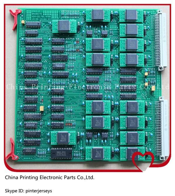 00.781.8503 00.781.2891 EAK heidelberg CD102 machine SM74 machine board EAK2 00.781.4795 can replace of EAK1