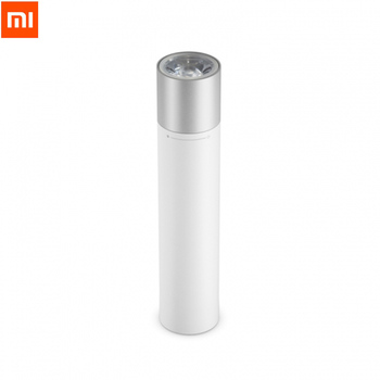 Original Xiaomi Portable Flashlight Adjustable Luminance Modes Rotatable Lamp Head USB Charging 3350mAh Outdoor For Smart home# Smart Remote Control