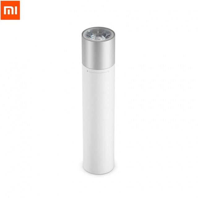 Xiaomi linterna portátil Original con modos de luminancia ajustables, cabezal de lámpara giratorio con carga USB, 3350mAh, para exteriores, para casa inteligente
