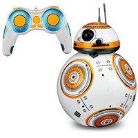 RC Robot Ball toy BB 8 remote control Star War toy BB8 smart wars car Action Figure Intelligent Ball Toys For bos kids gift