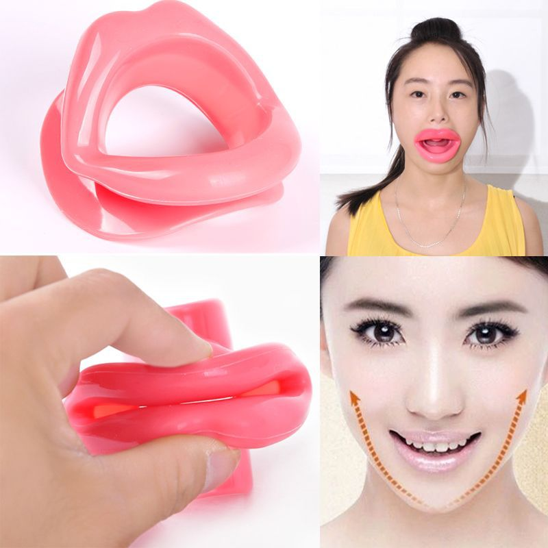 Hot Popular Massager Face-lift Tool New Silicone Rubber Face Care Slimmer Mouth Muscle Tightener Anti-Aging Anti-Wrinkle fallopia multiflora tea longevity anti aging 100g very popular polygonum multiflorum tea sichuan specialty he shou wu dry root